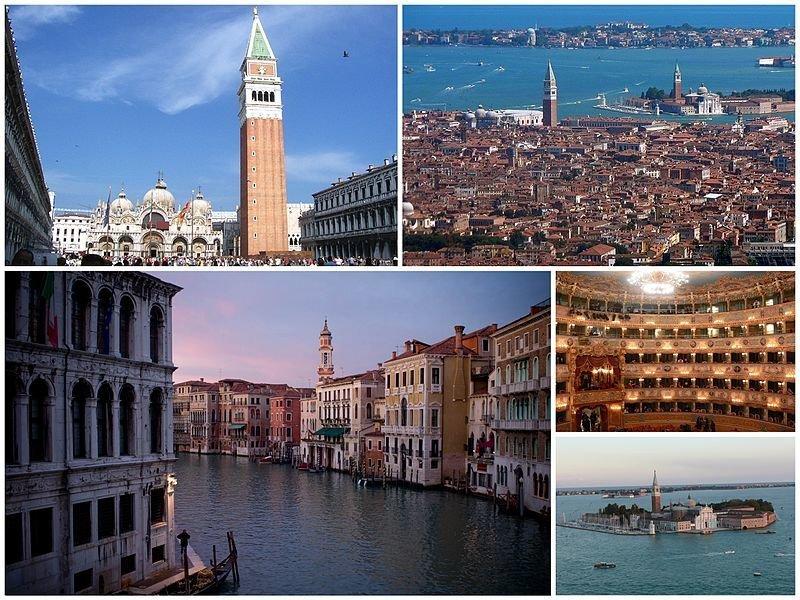 25 марта 421 г. 1597 лет назад День основания Венеции (5фото)