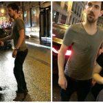 Джона Сноу встретили пьяным в Париже (4фото+1видео)