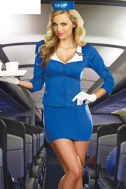Очаровательные стюардессы (20 фото)
