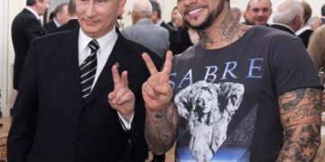 Тимати и Владимир Путин