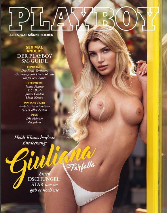 На обложку Playboy поместили фото модели-трансгендера Джулианы Фарфаллы (2 фото)