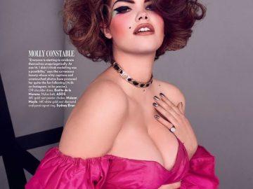 Playboy снял модель plus-size в эротической фотосессии (15фото)