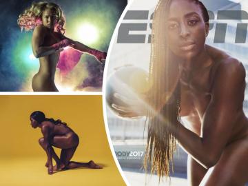 Спортсмены снялись голышом для журнала ESPN the Magazine (26фото)