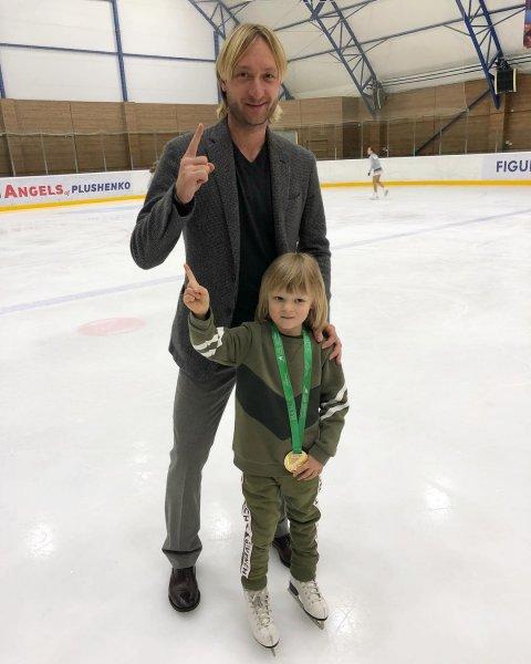 Сын Евгения Плющенко продолжит дело отца вопреки критике