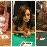 Кого только не встретишь за покерным столом (18фото)