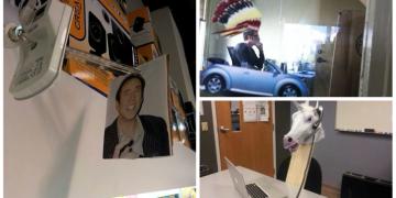 25 офисов, в которых у начальников и подчиненных хорошее чувство юмора (26фото)
