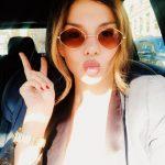 Анну Седокову из-за «утиных губ» перепутали с сестрой Кардашьян