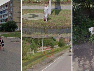 Кадры на Яндекс и Google-картах, которых не должно было быть (20фото)
