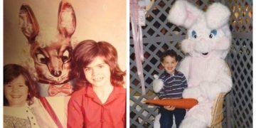 Празднование Пасхи: забавные и нелепые семейные фотографии (20фото)