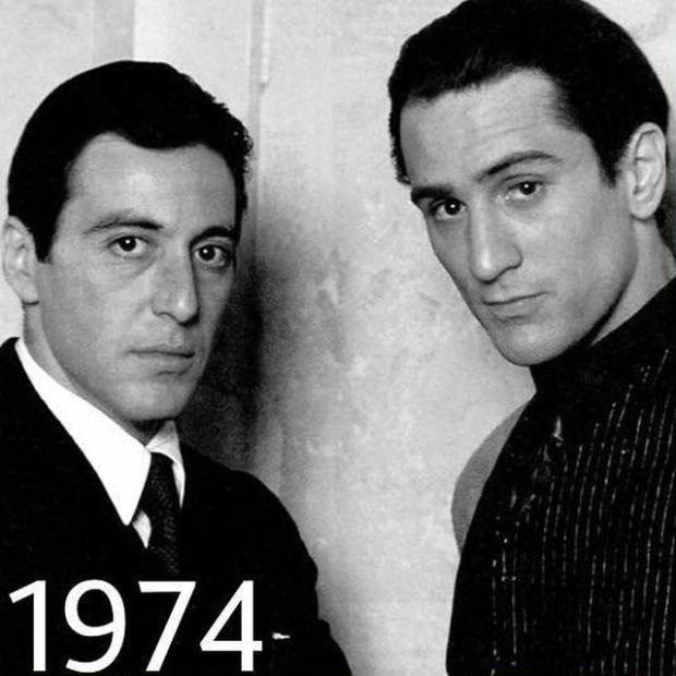 Аль Пачино и Роберт Де Ниро - дружба, которая длится не один год (4 фото)