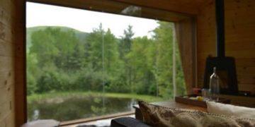 Идеальный проект дома, расположенный посреди леса (18 фото)