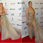 Новые фото Дженнифер Лопес в сексуальном платье (17 фото)