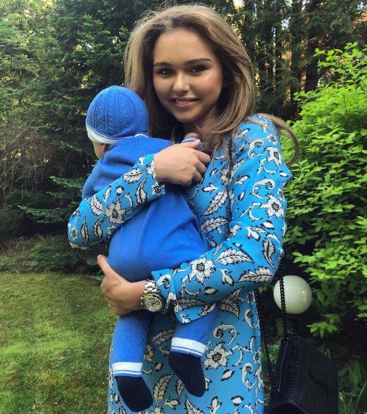 Трогательное фото дочери Маликова с младшим братом