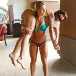 Красивые фитнес девушки (38 фото)