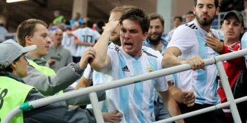 Сборная Аргентины проиграла Хорватии, со счетом 3:0 (19 фото)