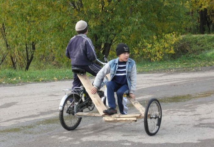 Изобретательность людей из России (47 фото)