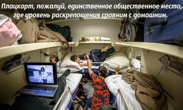 Прикольные фото из российских поездов-плацкартов (27 фото)