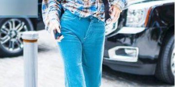 Новый джинсовый тренд от Кендалл Дженнер