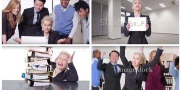 Эмилия Кларк снялась в комедийном ролике про стоковые фото (9фото+1видео)