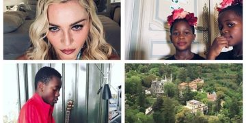 Мадонна с детьми теперь живет в Португалии, во дворце 18 века