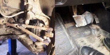 Дешевый ремонт автомобилей: фотографии из автосервисов (34фото)