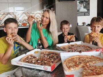 Реклама пиццы, семьей Марии Погребняк, выглядит слишком лживо