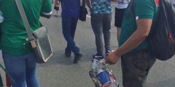 Мексиканский супергерой после матча в Ростове на ЧМ-2018 (4 фото)
