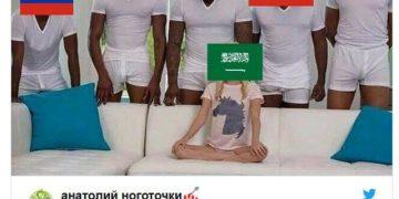 Россия - Саудовская Аравия: 5-0. Мемы и юмор про этот матч (22 фото)