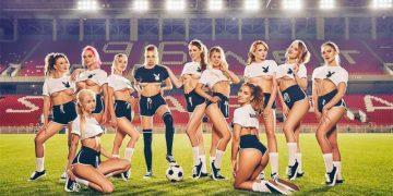 Фотосессия девушек журнала Playboy к ЧМ-2018 (38 фото)