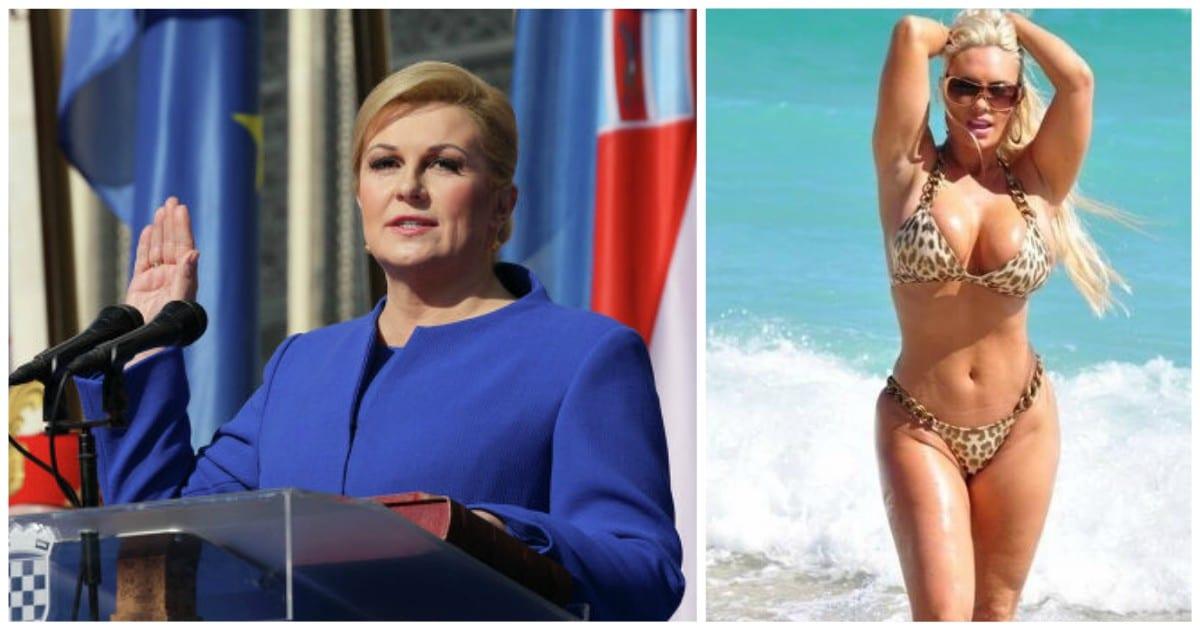 Президента ХорватииКолинды Грабар-Китарович