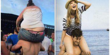 Какая разница между толстыми и худыми девушками? Смотрите! (21фото)