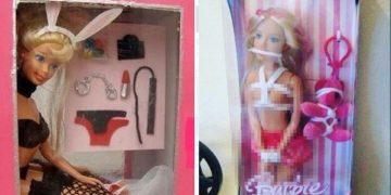 Ужасные и безумные куклы Барби на полках детских магазинов (20фото)