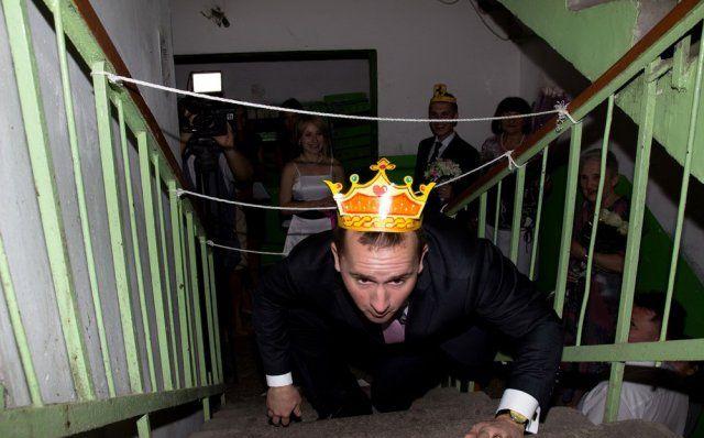 Смешной и современный выкуп невесты в России - 2018 год (28 фото)