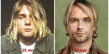Как бы выглядели легендарные музыканты сейчас, умершие молодыми (12фото)