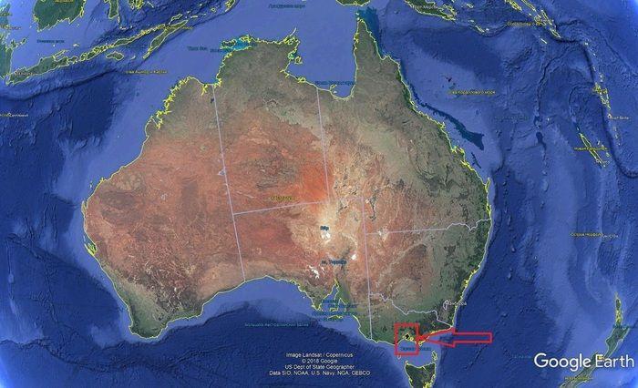 Забавная находка на картах Google Earth (5 фото)