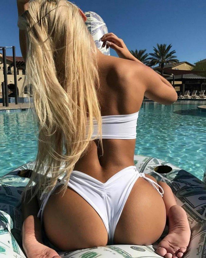 Фото красивых и голых девушек сзади #10