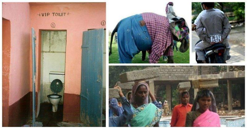 Забавные моменты, с которыми можно столкнуться только в Индии (27фото)