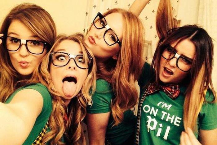Смешные девчонки (41 фото)