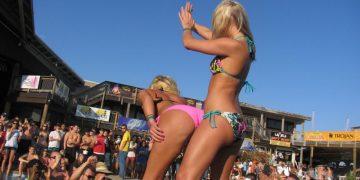 Пьяные девушки. Фото на пляже (75 фото)