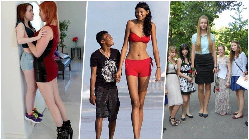 Очень-очень высокие девушки (31фото)