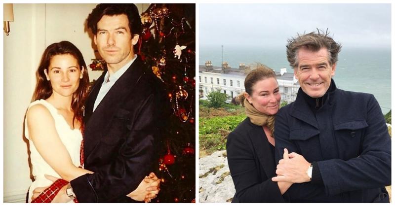 25 лет вместе: фотографии Пирса Броснана с женой в честь годовщины их отношений (24фото)