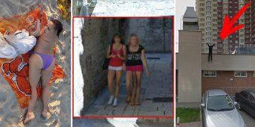 Неожиданные находки на Google Maps (22фото)