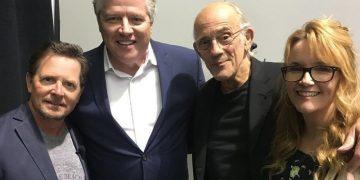 Актёры фильма «Назад в будущее» встретился спустя 33 года (6фото)