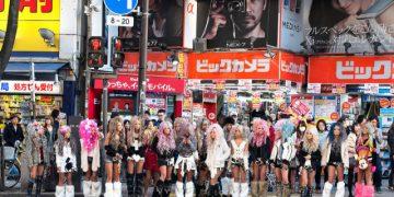 Японские девушки на улицах Токио (28 фото)