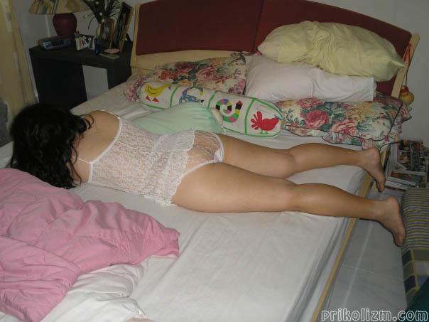 девушки фото рассказы спящие