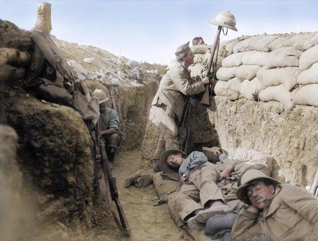 Цветные фотографии Первой мировой войны (31 фото)