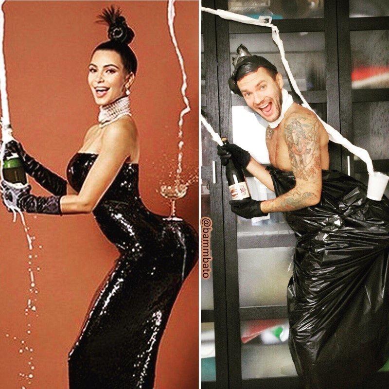 Прикольные фото пародий на звезд шоу-бизнеса (16фото)