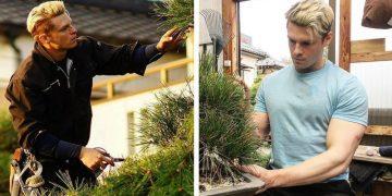Тацумаса Мурасаме - самый красивый шведский садовник в Японии (13фото)