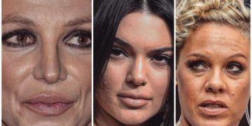 Не всё так идеально, как казалось: фото лиц знаменитостей вблизи (21фото)