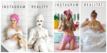 Креативная немка высмеивает гламурные фотографии из Instagram (25 фото)